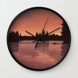 Quetico Provincial Park Wall Clock