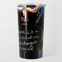 Desire is Street Art Graffiti Travel Mug