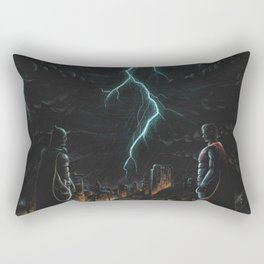 War of Man Rectangular Pillow