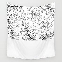 Zen flowers I Wall Tapestry
