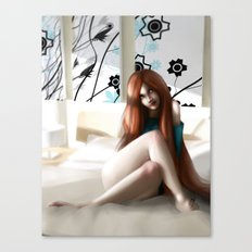 Angela´s Wait Canvas Print