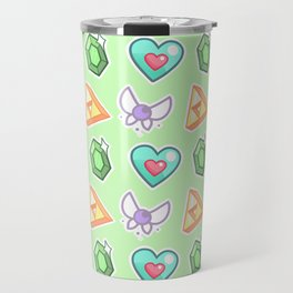 Legend of Zelda Pattern Travel Mug