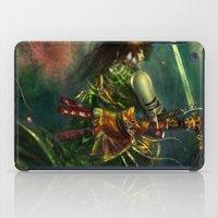 warrior iPad Cases featuring Warrior by Lappisch