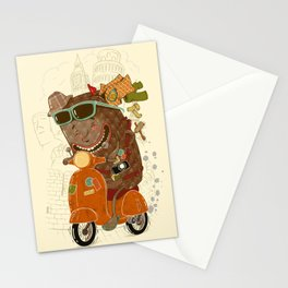 Packed and ready to go Stationery Cards