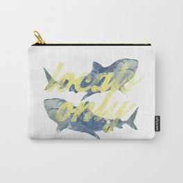 Locals Only Watercolor Carry-All Pouch