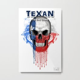 To The Core Collection: Texas Metal Print