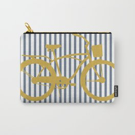 Golden Bike (Preppy Collection) Carry-All Pouch