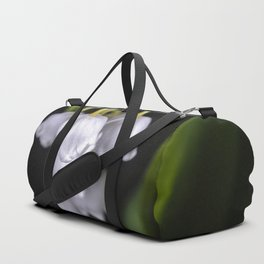 Lily of the valley close up Duffle Bag