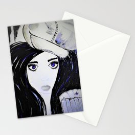 Melinda. Illustrated from the book Tempting Tempo by Author Michelle Mankin. Stationery Cards