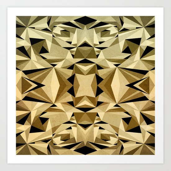 ABSTRACTION ARTDECO Art Print