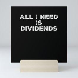 Finance Investing Money Stocks Saving Trading Mini Art Print