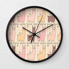 llamallama! Wall Clock