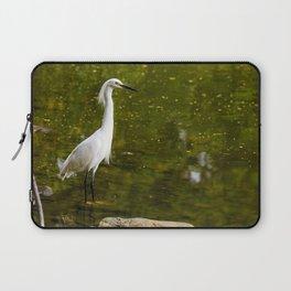 Majestic Egret  Laptop Sleeve