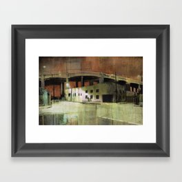 Double Bypass Framed Art Print