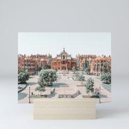 City Of Barcelona Architecture, Sant Pau Hospital Facade Art Print, Urban Architecture, Modernism Building Print Mini Art Print