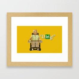 Lego Hector Framed Art Print