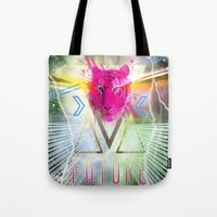 odd future Tote Bags featuring FUTURE by CMINOR