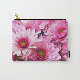 chrysanthemums in the garden Carry-All Pouch