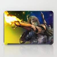 boba iPad Cases featuring Boba Fett by Vincent Vernacatola