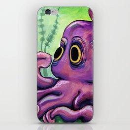 Leo the Octopus iPhone Skin