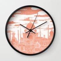 venus Wall Clocks featuring Venus by David Fleck