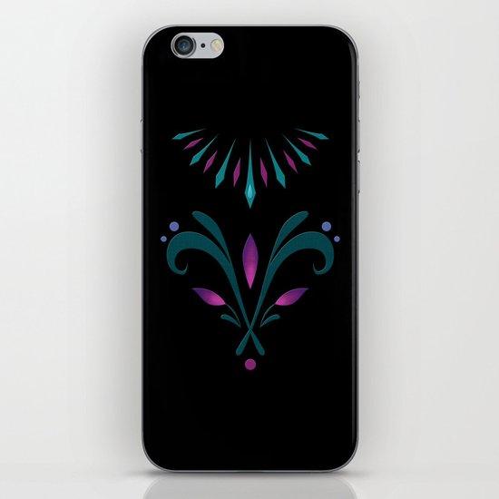 Elsa Embroidery iPhone & iPod Skin