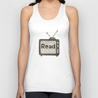 read Tank Tops featuring read by jo bozarth