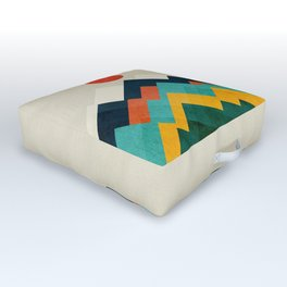 The hills are alive Outdoor Floor Cushion