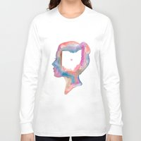 ohio state Long Sleeve T-shirts featuring Ohio State of Mind by Glitteracy