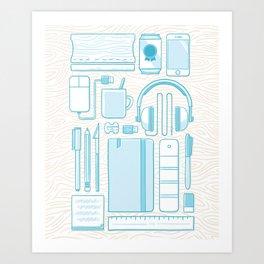 Designer Toolkit Art Print