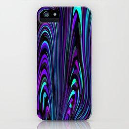 Jewel Tone Swirl iPhone Case