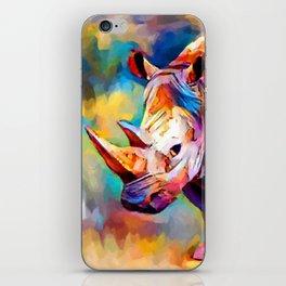 Rhinoceros iPhone Skin