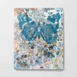 Moth Migrates Metal Print