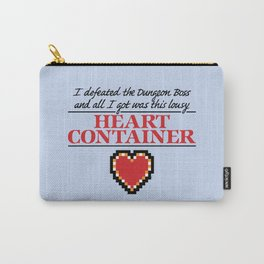 Lousy Heart Container Carry-All Pouch