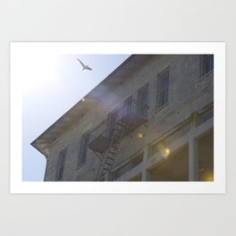 Grace over Alcatraz - San Francisco, CA  Art Print