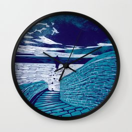 A Sanctuary Closed Wall Clock