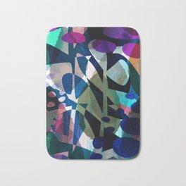 Abstract Petals Bath Mat