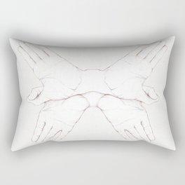 Hadouken! Rectangular Pillow
