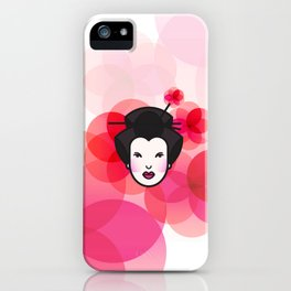 Geisha Icon iPhone Case