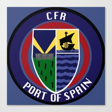 CFR - Port Of Spain Canvas Print