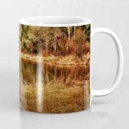 Playing at the Pond Coffee Mug