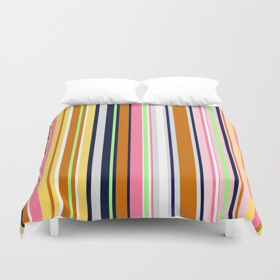 Beach Deckchair Number 2  Duvet Cover