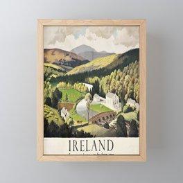 poster Ireland Framed Mini Art Print