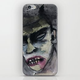 ZZ BRAINS  iPhone Skin