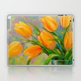 A bouquet of tulips Laptop & iPad Skin