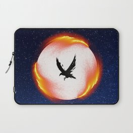 The Head is too Wise The Heart is All Fire | Raven Cycle Design Laptop Sleeve