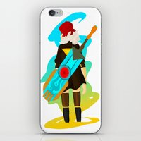 transistor iPhone & iPod Skins featuring Transistor by Jamerson