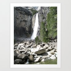 Rocks and Water Art Print