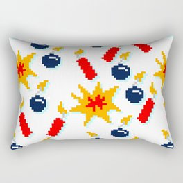 8BitBombzzzz!!! Rectangular Pillow