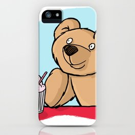 Is That More Food? Milkshakes Are For Dreamers. iPhone Case